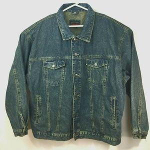 Crossfire Denim Trucker Jacket Dark Wash Jean